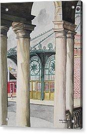 Asbury Park Acrylic Print by Judy Riggenbach