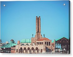 Asbury Park Skyline Acrylic Print