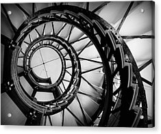 Ascend - Black And White Acrylic Print