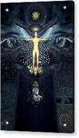 Ascension And Rebirth Acrylic Print by Alex Polanco