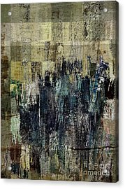 Acrylic Print featuring the painting Ascension - C03xt-159at2c by Variance Collections