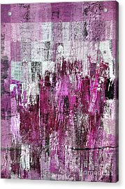 Acrylic Print featuring the digital art Ascension - C03xt-165at2c by Variance Collections