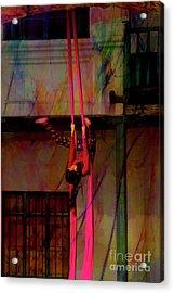 Ascension Of The Acrobat II Acrylic Print by Al Bourassa