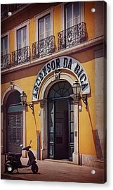 Ascensor Da Bica Lisbon Acrylic Print by Carol Japp