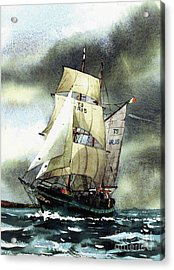 F  758  Asgard 11 Often Sailed Along The Wild Atlantic Way Acrylic Print