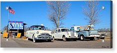 Ash Fork Vintage Cars Along Historic Route 66 Acrylic Print