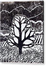 Ash Tree Acrylic Print