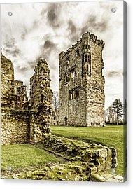 Ashby Castle Acrylic Print