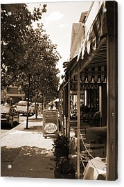Asheville Street Acrylic Print by Utopia Concepts