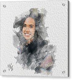Asiah Acrylic Print