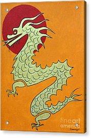 Asian Dragon Icon No. 1 Acrylic Print