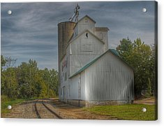 2008 - Aside The Tracks In Mayville Acrylic Print