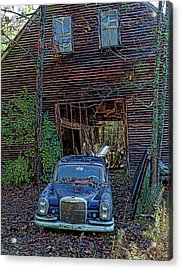 Asleep At The Wheel Acrylic Print