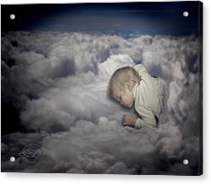 Asleep In The Clouds Acrylic Print