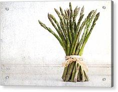Asparagus Vintage Acrylic Print by Jane Rix