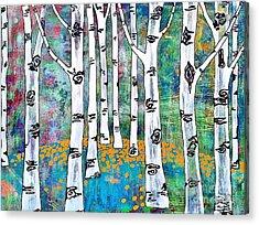 Aspen Bright Acrylic Print by Amy Sorrell
