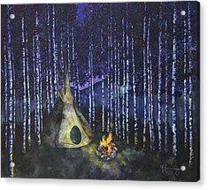 Aspen Camp Acrylic Print