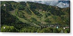 Aspen Mountain Late Summer Acrylic Print
