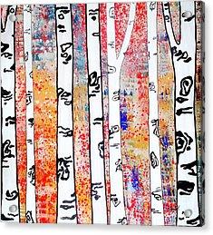 Aspen Woods Acrylic Print by Amy Sorrell