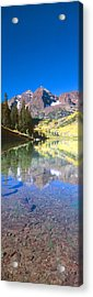 Aspens And Morning Light, Maroon Bells Acrylic Print