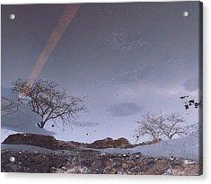 Asphalt Reflection I Acrylic Print