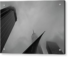 Acrylic Print featuring the photograph Aspire by Alex Lapidus