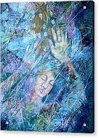 Assailed By Confusion Acrylic Print by Sue Reed