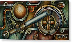 'assembled' Acrylic Print by Michael Lang