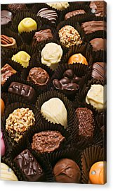 Assorted Candy Acrylic Print by Garry Gay