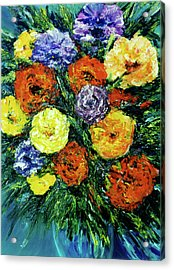 Assorted Flowers #191 Acrylic Print by Donald k Hall