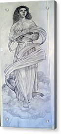 Assumption Of The Virgin Acrylic Print by Patrick RANKIN