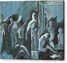 Assylum Acrylic Print by Reb Frost