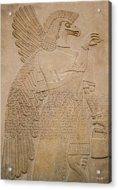 Assyrian Guardian Acrylic Print