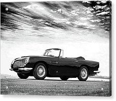 Aston Db5 1964 Acrylic Print by Mark Rogan