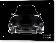 Aston Martin Db5 - Front View Acrylic Print