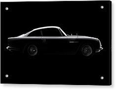 Aston Martin Db5 - Side View Acrylic Print