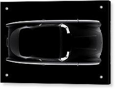 Aston Martin Db5 - Top View Acrylic Print