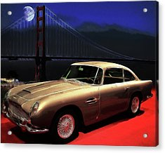 Aston Martin Db5 Acrylic Print by Wingsdomain Art and Photography