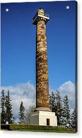Astoria Column Acrylic Print by Jon Burch Photography