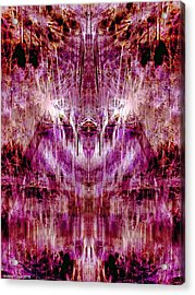 Astral Reflection Acrylic Print by Jane Tripp