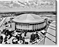 Acrylic Print featuring the photograph Astrodome 5 by Benjamin Yeager