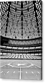 Acrylic Print featuring the photograph Astrodome 7 by Benjamin Yeager