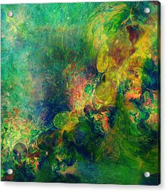 Astronomical Beauty Abstract Acrylic Print