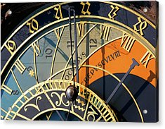 Astronomical Clock Prague Acrylic Print