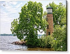 Asylum Point Lighthouse 1 Acrylic Print