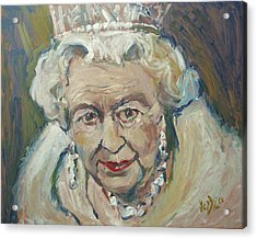 At Age Still Reigning Acrylic Print