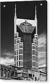At And T Nashville Acrylic Print by Ian Barber