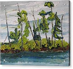 At Burbue Lake No 2 Acrylic Print by Francois Fournier