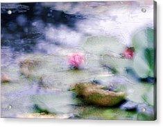 At Claude Monet's Water Garden 12 Acrylic Print