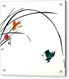 At Gaze Acrylic Print by Ming Yeung